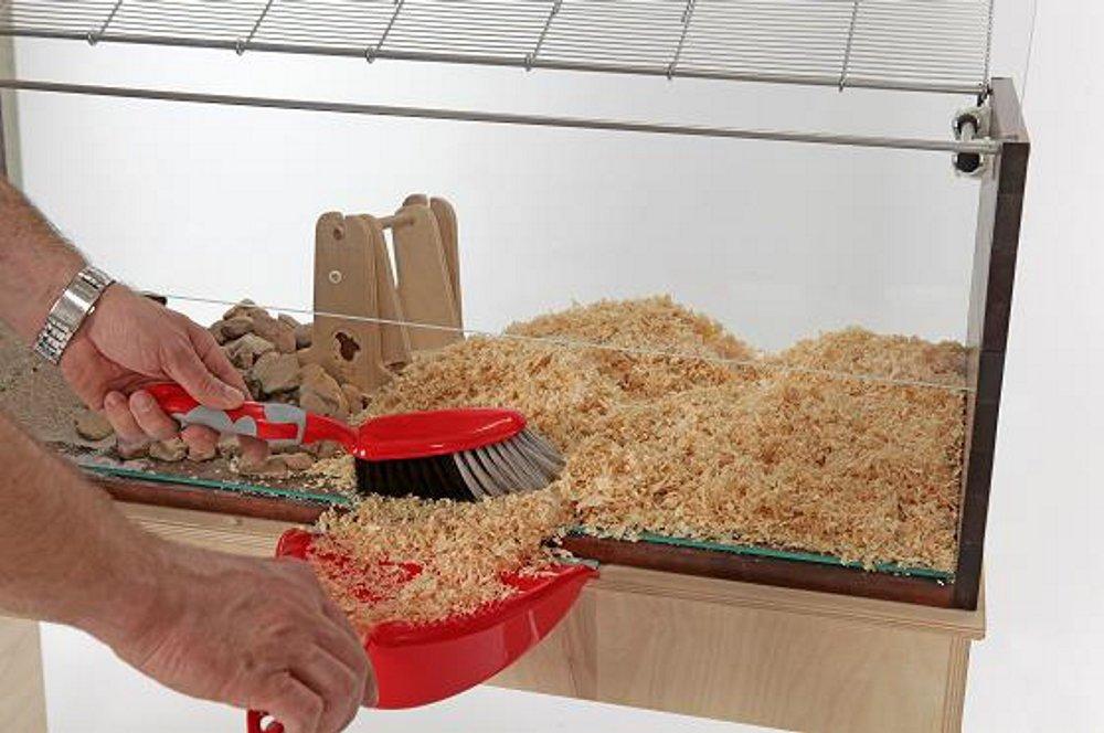 Hamsterkäfig artgerecht reinigen