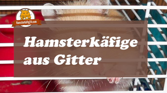 Hamsterkäfige aus Gitter