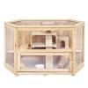 Doppelstock Hamsterkäfig Holz