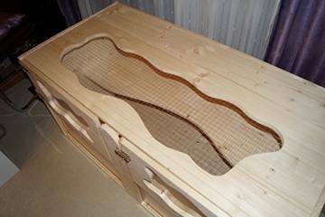 Hamsterheim XXL Deckplatte