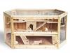 Hamsterkäfig aus Massivholz