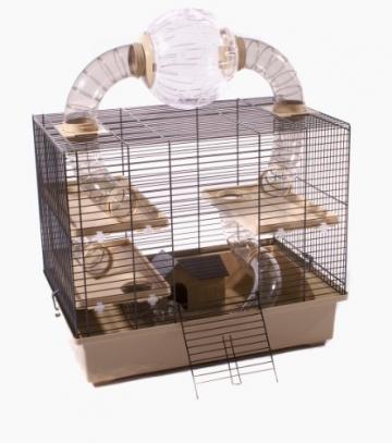 Hamsterkäfig beige