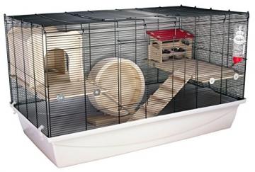 Hamsterkäfig Gitter komplett 2 Tür