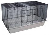 Hamsterkäfig Gitterkäfig aufklappbar