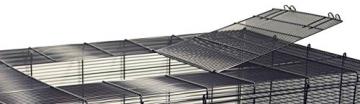 Hamsterkäfig Gitterkäfig aufklappbar Dach
