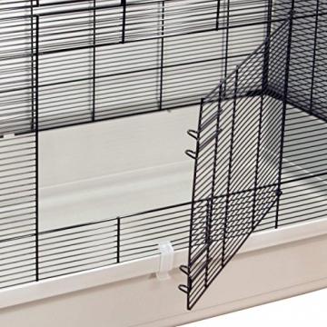 Hamsterkäfig Gitterkäfig aufklappbar 2 Türen