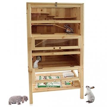 Hamsterkäfig Holzsstall für mehrere Hamster