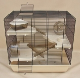 Hamsterkäfig komplett ausgestattet