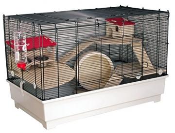 Hamsterkäfig Komplettset Gitter