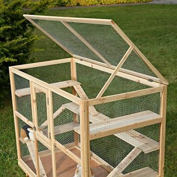 Hamsterkäfig Nagerkäfig Dach öffnen