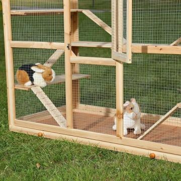 Hamsterkäfig Nagerkäfig Tür seitlich