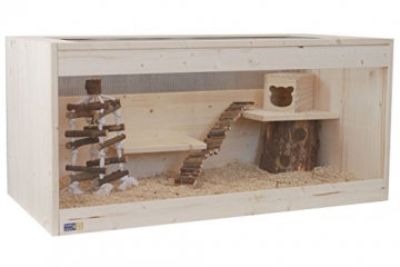 Hamsterkäfig Naturholz