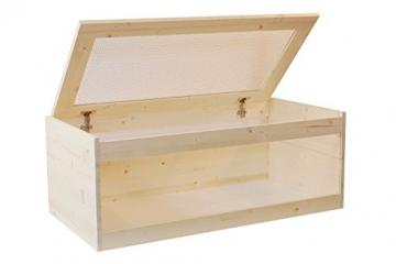 Hamsterkäfig Naturholz Deckel aufklappbar