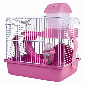 Hamsterkäfig rosa