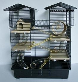 Hamsterkäfig schwarz