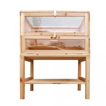 Hamsterkäfig XXL Holz aufklappbar