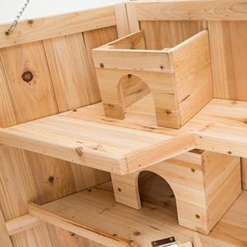 Hamsterkäfig XXL riesig mit Haus