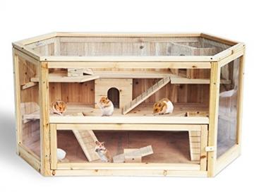 Hamsterstall Holz