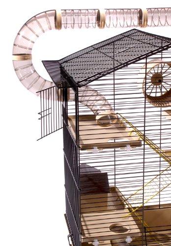 XXL Hamsterkäfig mit Röhren außen