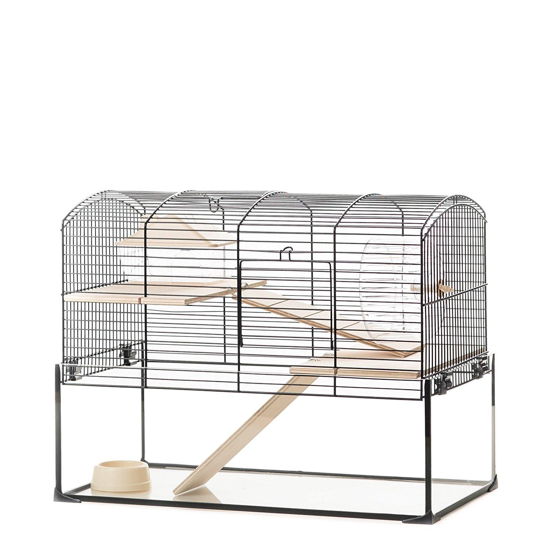 Billiger Hamsterkäfig aus Glas