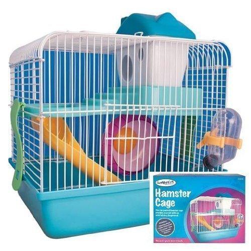 Billiger Hamsterkäfig mit Gittern