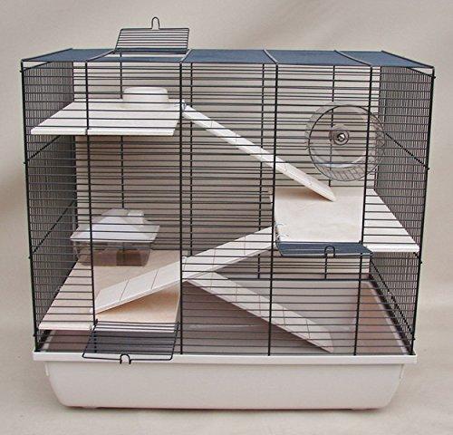 Gitter Hamsterkäfig mit mehreren Etagen