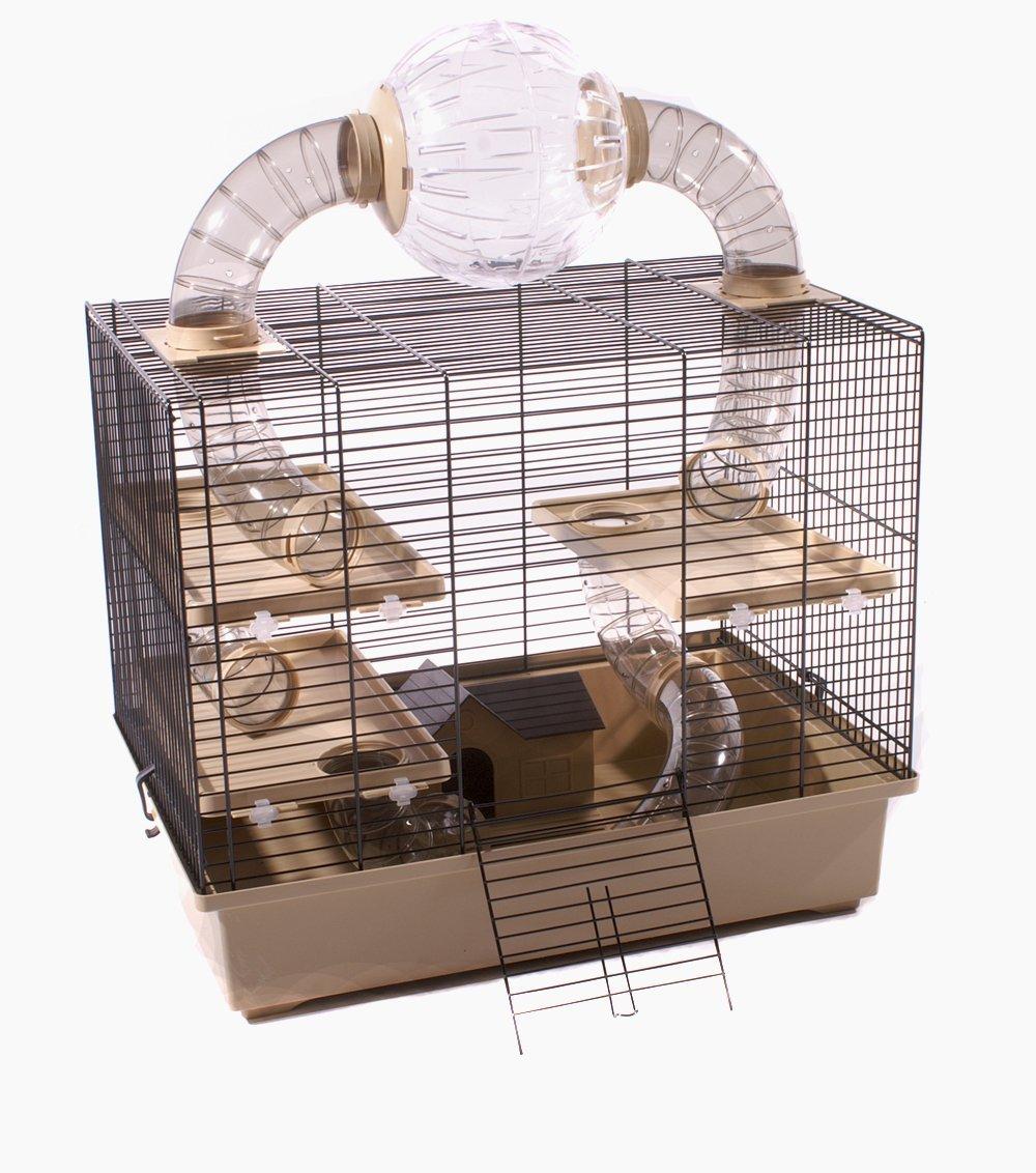 Hamsterkäfig Gitter Röhren