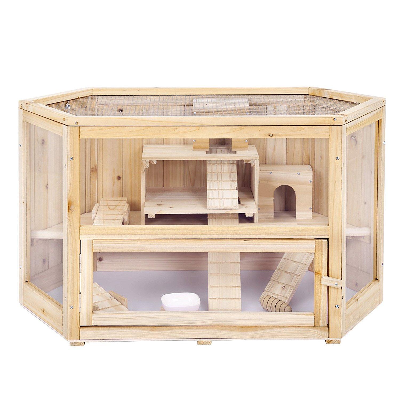 Hamsterkäfig Holz XL