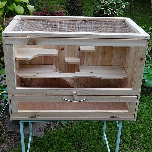 Hamsterkäfig Holz günstig