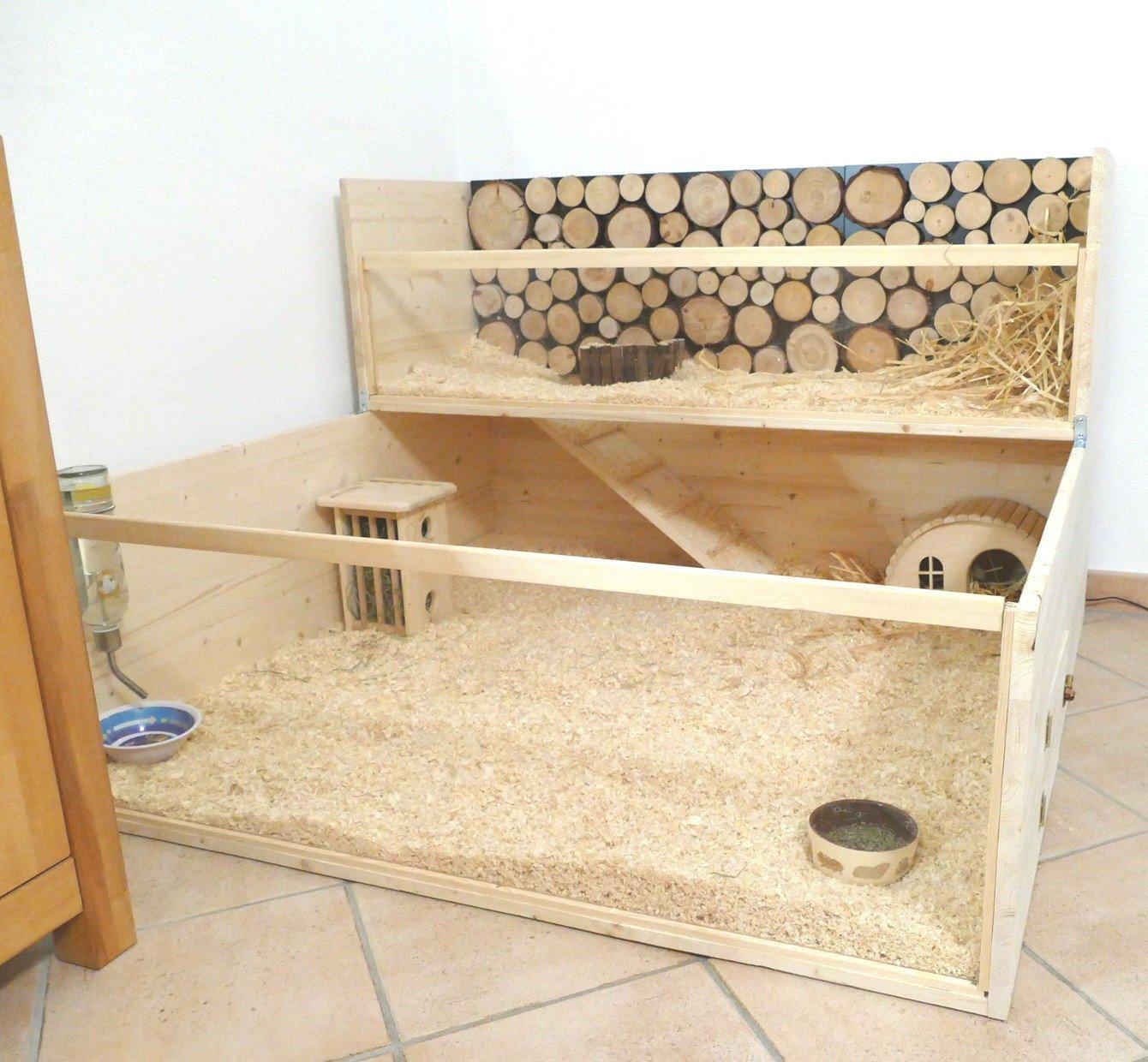 Hamsterkäfig Holz riesig