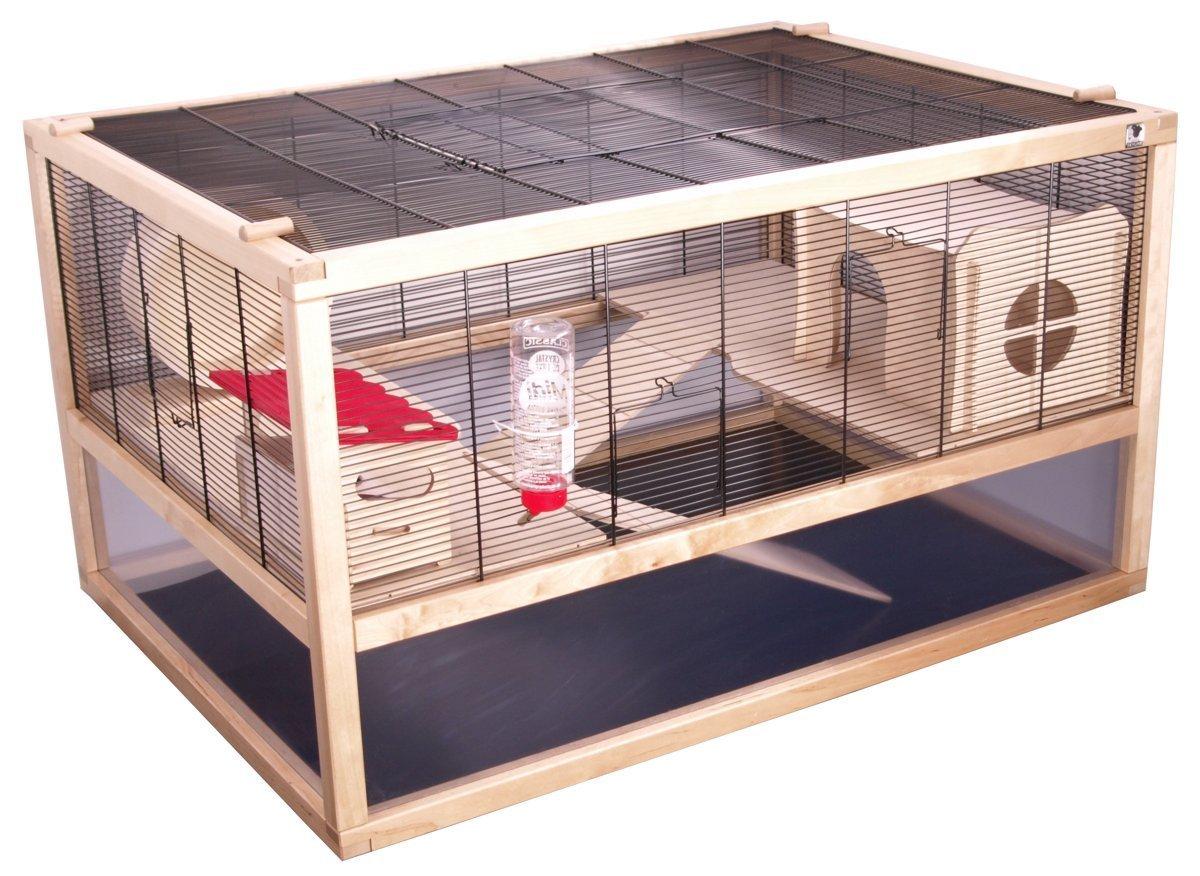 Hamsterkäfig Testsieger mit Glas und Gitter
