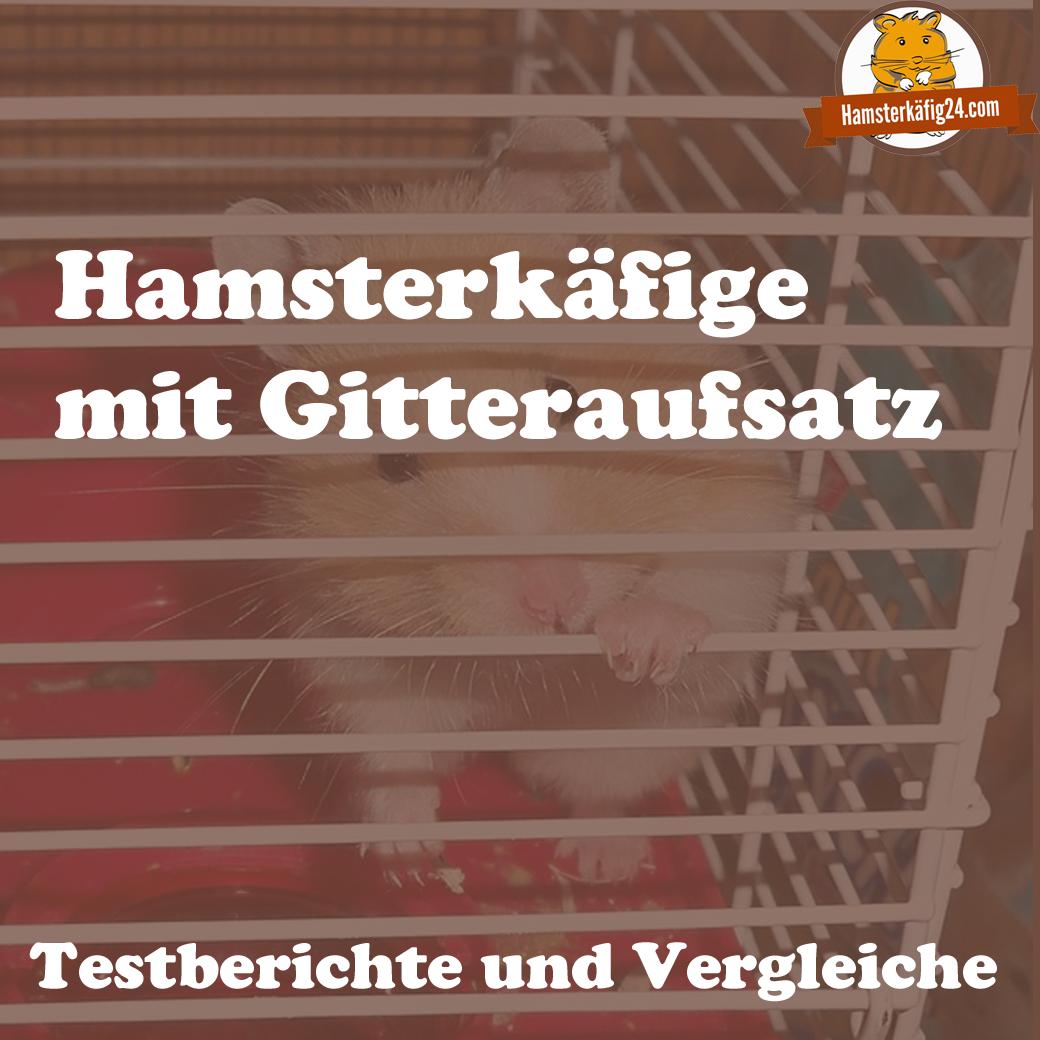 Hamsterkäfig mit Gitter
