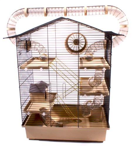 Hamsterturm aus Gittern