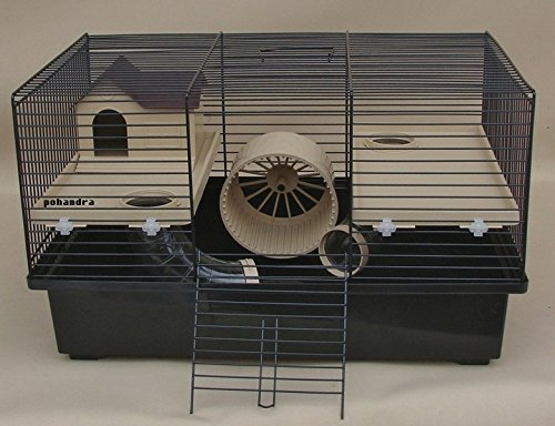 günstiger Hamsterkäfig mit Gittern