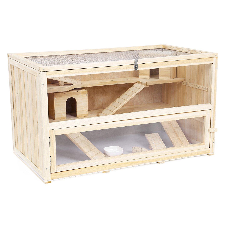 großer Hamsterkäfig Holz