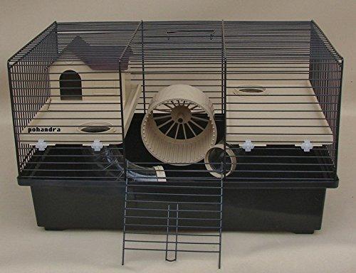 Günstiger Hamsterkäfig mit Laufrad