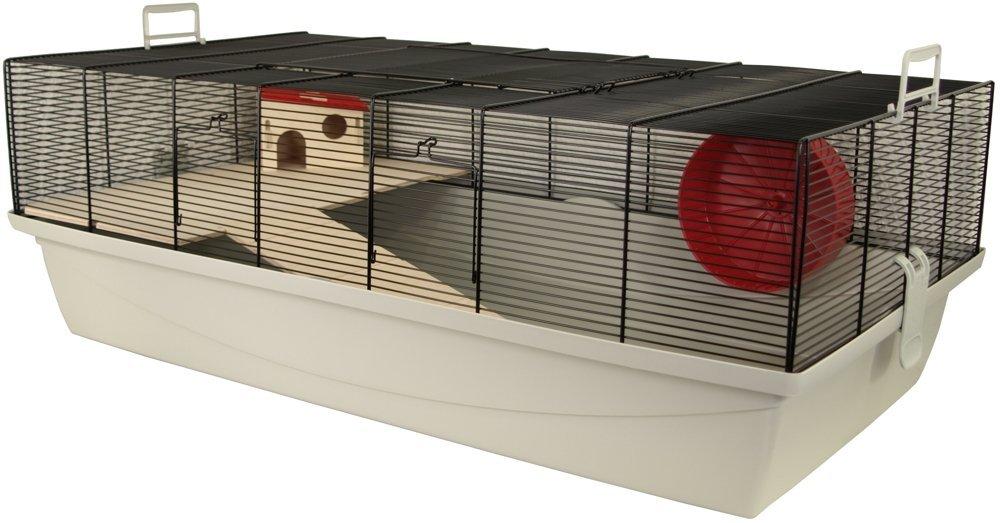 günstiger artgerechter Hamsterkäfig aus Gittern